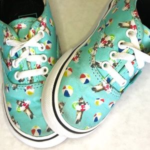 "Toddler Vans ""Pool Party Cats"""